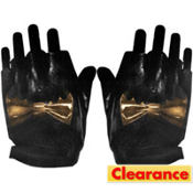 Biker Bat Fingerless Gloves