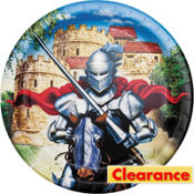 Valiant Knight Lunch Plates 8ct