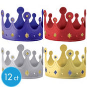 Birthday Crowns 12ct