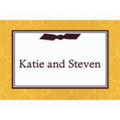 Elegant Affair Custom Thank You Note