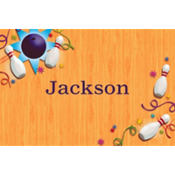 Let's Bowl Custom Thank You Note