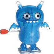Glitter Blue Uglydoll Ice Bat Windup Toy