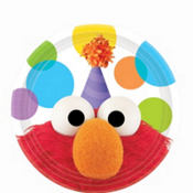 Elmo Party Dessert Plates 8ct