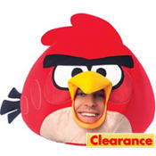 Deluxe Red Angry Birds Mask