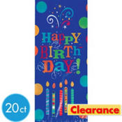 Birthday Fever Treat Bags 20ct