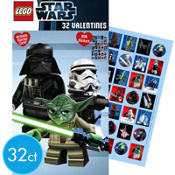 Lego Star Wars Valentines Day Cards with Stickers 32ct
