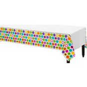 Colorful Commencement Table Cover 54in x 102in