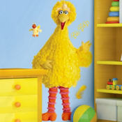 Sesame Street Big Bird Wall Decals 30in
