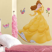 Disney Belle Wall Decals 38in