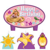 Tangled Birthday Candles 4ct