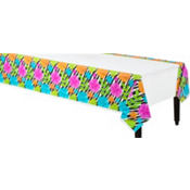 Plastic Wild Isle Table Cover 54in x 102in