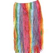 Rainbow Adult Hula Skirt