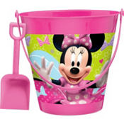 Minnie Mouse Pail with Shovel 7 1/4in