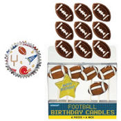 Football Cupcake Kit For 12