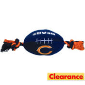 Chicago Bears NFL Football Dog Toy