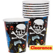 Party Rock Cups 8ct