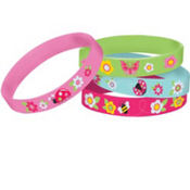 Garden Girl Wristbands 4ct