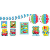 Cars 1st Birthday Room Decorating Kit 10pc