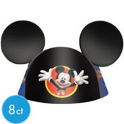 Mickey Mouse Party Hats 8ct