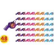 Dora the Explorer Whistles 48ct