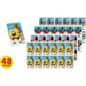 SpongeBob Notepads 48ct
