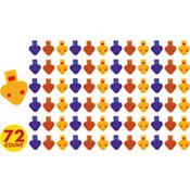 Two-Tone Whistles 72ct