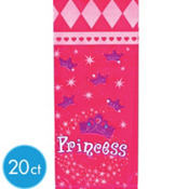 Princess Crown Treat Bags 20ct