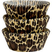 Leopard Print Baking Cups 75ct