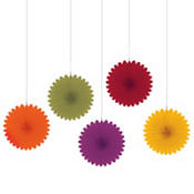 Fall Hanging Fans 5ct