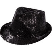 Sequin Light Up Fedora
