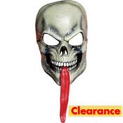 Tongue Out Skull Mask