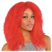 Fly Girl Fire Red Wig
