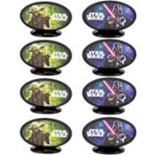 Star Wars Cake Toppers 8ct