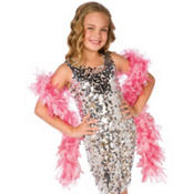 Child Sparkle Pink Boa 60in