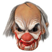Bloody Old Man Clown Mask