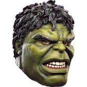 Latex Avengers Hulk Mask Deluxe