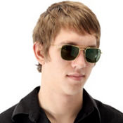 Adult Square Aviator Glasses