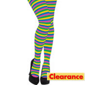 Adult Rainbow Striped Tights