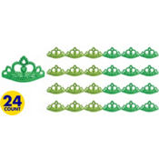 St. Patricks Day Metallic Tiaras 24ct49¢ per piece!