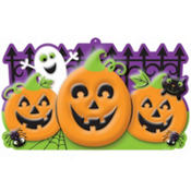 Vacuform Halloween Sign 17in