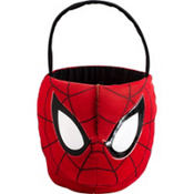 Glow in the Dark Spiderman Treat Bucket 7in