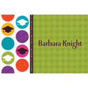 Colorful Commencement Custom Thank You Notes