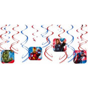 Avengers Swirl Decorations 12pc