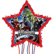 Pull String Avengers Pinata 17in