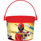 Power Rangers Favor Container 4in