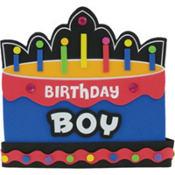 Foam Birthday Boy Crown