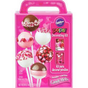 Valentines Day Cake Pops Decorating Kit 15pc