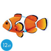 Clown Fish Cutouts 11 3/4in 12ct