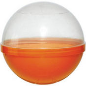 Orange Ball Favor Containers 6in 12ct