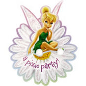 Pixie Party Tinker Bell Invitations 8ct